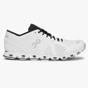 On Cloud Cloud X White & Black Running Shoe